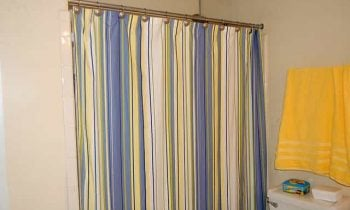 Shower Curtain as Decor
